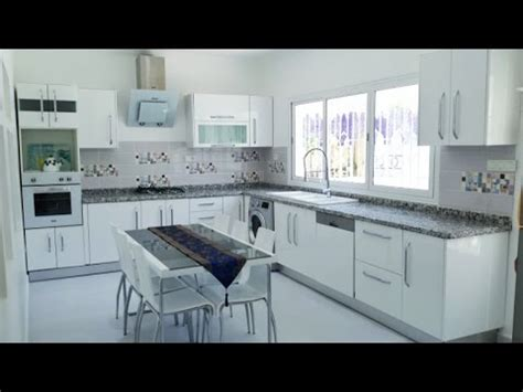 cuisine moderne blanche