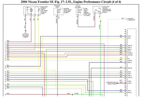 2006 nissan bakkie electrical wiring diagram day i