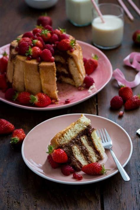 jujube en cuisine au chocolat et fruits rouges fraises