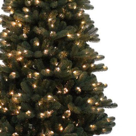 home accents holiday 7 5 ft blue spruce elegant twinkle