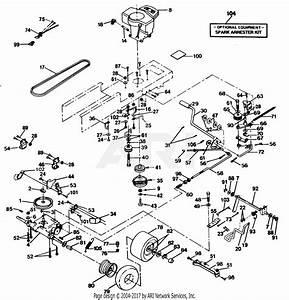 Wiring Database 2020  27 Poulan Pro 42 Inch Deck Diagram