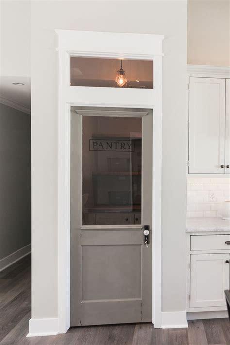 4 Door Kitchen Pantry White Pantry Door Transom Window The White Woodwork