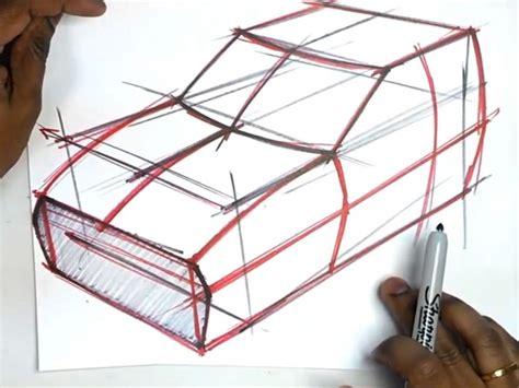 car drawing fundamentals form  sections car body design