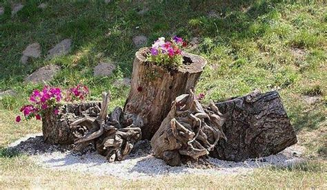 root artworks  yard decorations bringing natural