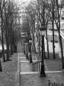 les escaliers de montmartre fa 231 on brassai