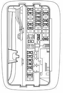 Dodge Durango  2005   U2013 Fuse Box Diagram