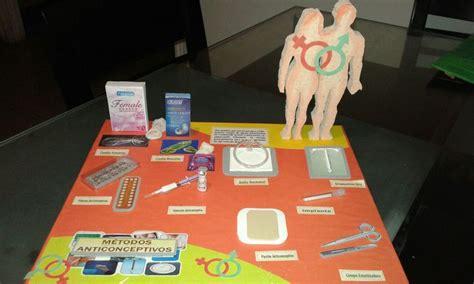 maqueta metodos anticonceptivos maquetas escolares