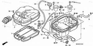 Honda Motorcycle 2002 Oem Parts Diagram For Air Cleaner