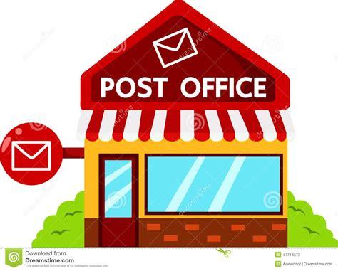 bureau postal post office building clipart clipartsgram com