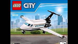 Lego City 60102 Airport Vip Service Instructions Diy Book