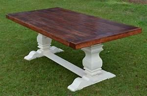 17 Elegant Classic Trestle Tables