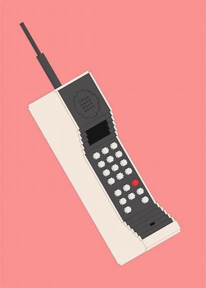 Phone Cell Pixel Brick Call Nigger Wake