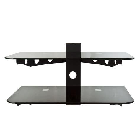 tv shelf mount flat tv wall mount bracket 30 quot 60 quot component shelf 2