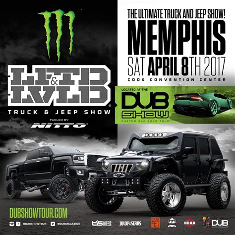 monster truck show memphis lftdxlvld truck jeep show inside the monster energy dub