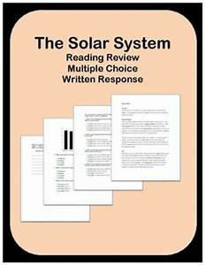 Solar System Reading Passages and Questions | Multiple ...