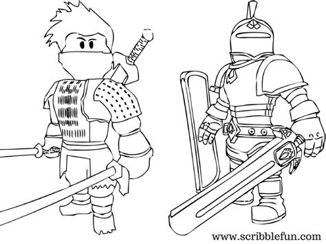Roblox Roblox Kleurplaat by Roblox Free Coloring Pages