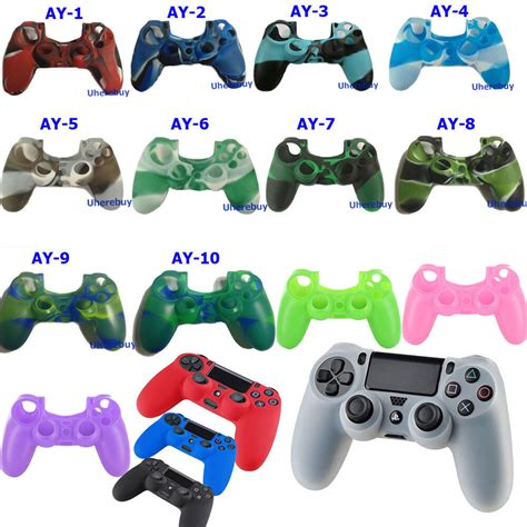 New Silicone Skin Case Cover For Sony Playstation 4 Ps4