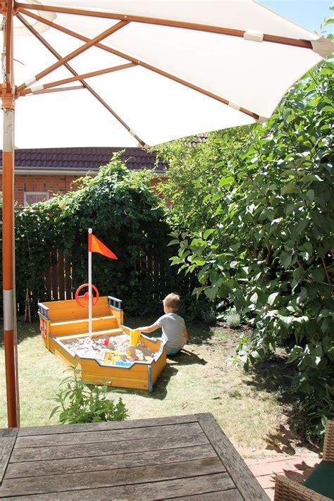 Für Garten by Woodlii Sandkasten Boot Lavendelblog