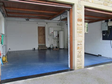 seamless domestic garage flooring systems installed