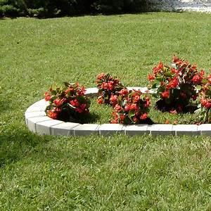 Bordure En Ciment : bordure courbe seine pierre reconstitu e ton pierre ~ Premium-room.com Idées de Décoration
