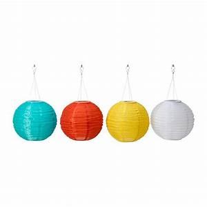 Ikea solvinden solar powered pendant lamp lantern outdoor lighting light globes