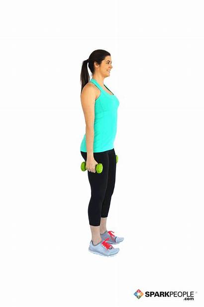 Squats Dumbbell Sparkpeople Exercise Workout Exercises Squat