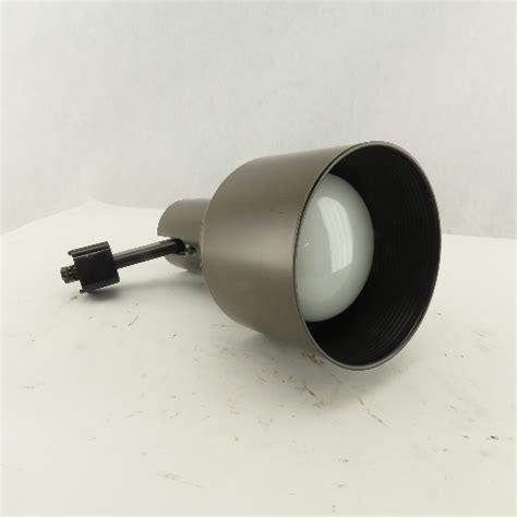 mcgraw edison  halo  brown track light spot flood light fixture