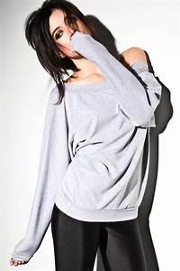 Oversized Dolman Sweater Off Shoulder Sweatshirt Dolman Top
