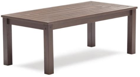 Strathwood Anderson Hardwood Coffee Table