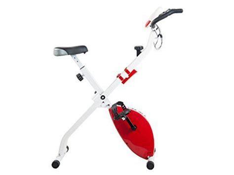 Tauki™ Indoor Folding Upright Exercise Bike W/ LCD Monitor ...