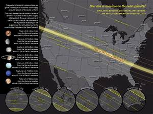 The solar eclipse will make cities as dark as other ...