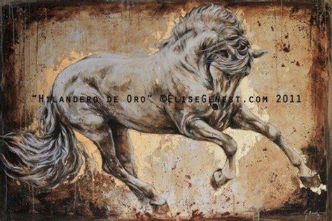 horse painting  elise genest