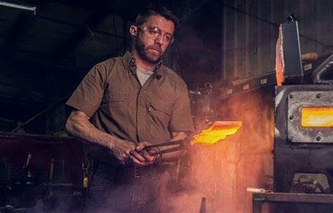 Forged in fire star Ben Abbott | Thecelebsinfo