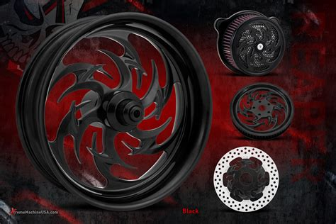 custom wheels motorcycle machine xtreme wheel reaper anodized streetcustommotorcycle talon arson