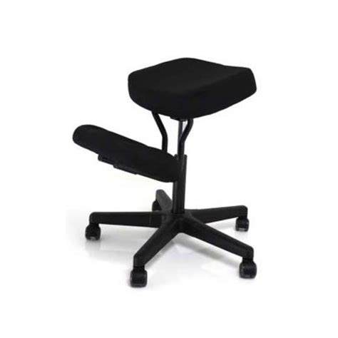 kneeling chair with back jobri f1442 better posture solace ergonomic kneeling chair