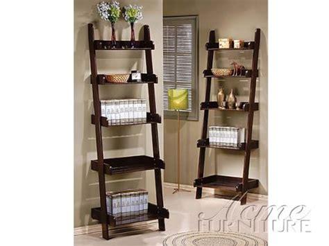 leaning wall shelf wales compact espresso finish leaning ladder wall shelf