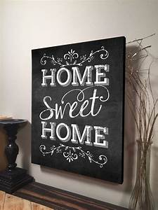 Home, Sweet, Home, Sign, Inspirational, Quote, Family, Quote, Signs, Wall, Hanging, Art, Housewarming, Gift