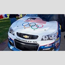 Nascar Driver Unveils Ultrapatriotic Winter Olympics