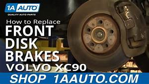 How To Replace Front Disc Brakes 03-12 Volvo Xc90