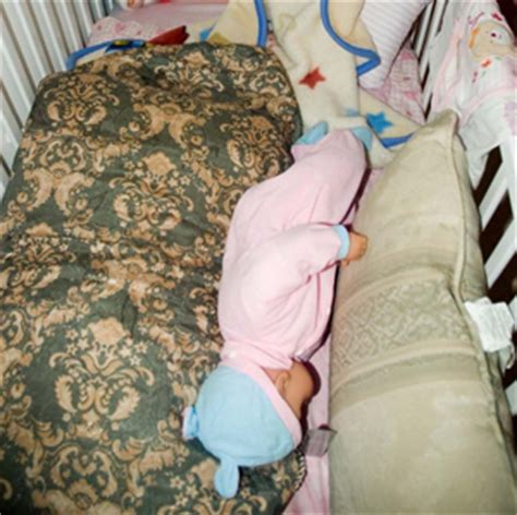 when should baby start sleeping in crib safe sleep bedding pillows safety and more onsafety