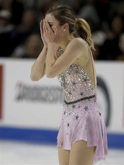 ashley wagner furious  fourth place   skate