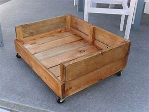 easy and affordable diy dog bed ideas homestylediarycom With dog bed frames for large dogs