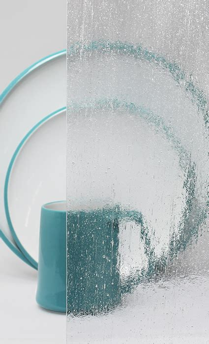 decorative cabinet glass clear textured bubble