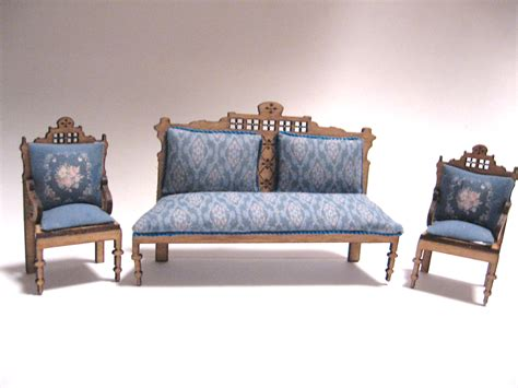 Settee Set by Eastlake Settee Set