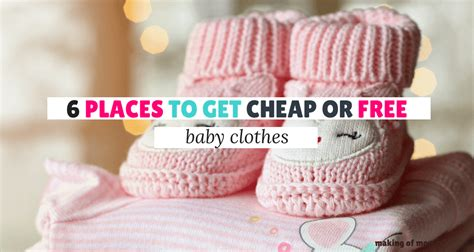 Where To Buy Cheap Baby Clothes 6 Places To Get Cheap (or