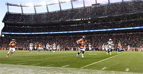 Many fans opposed a corporate name and wished to retain the previous venue's name, mile high stadium.9 the denver post initially refused. It is our duty to name the Broncos' stadium