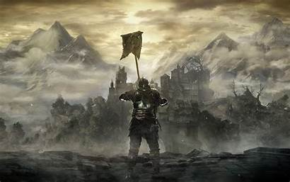 Souls Dark Pc Landscape Wallpapers Gothic Resolution
