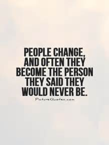 Quotes About People Who Never Change