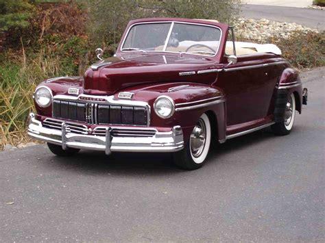 1947 Mercury Convertible For Sale