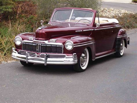 Mercury Cars : 1947 Mercury Convertible For Sale